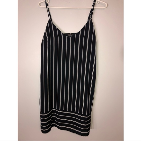 2 for $20!! Black and white stripped dress